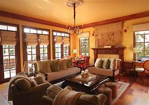 Mission Style Decorating, Western Style Living Room ...