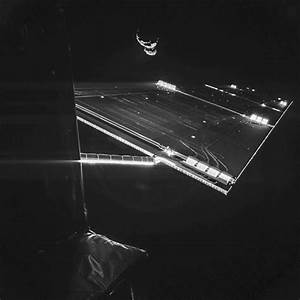 Rosetta Update: Spacecraft Takes 'Selfie' by Comet Team ...