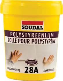 colle pour polystyrene extrude soudal expert en colle mousse pu et mastics