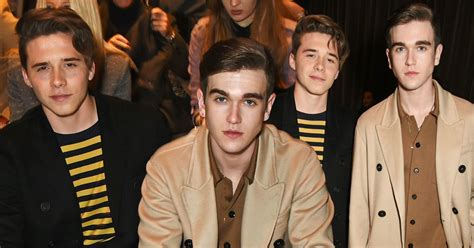 Brooklyn Beckham and Gabriel Day-Lewis are the spitting
