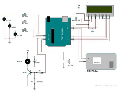 Home Automation Using Arduino Gsm Module