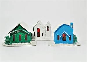 Vintage putz houses - Just Vintage Home