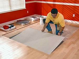 Miscellaneous how to install hardwood floors on concrete for Installing a wood floor over concrete