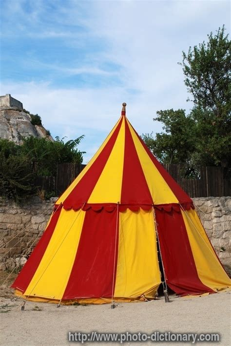 medieval camp tent photopicture definition  photo dictionary medieval camp tent word