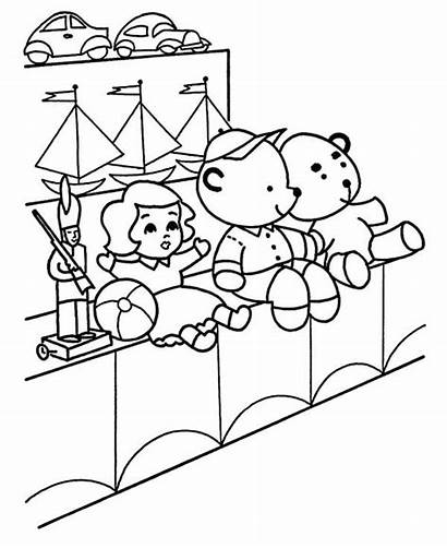 Coloring Toys Pages Sales Toy Drawing Getdrawings