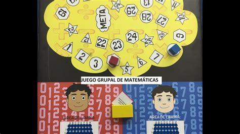 Matemáticas Divertidas Juego Grupal Para Sexto De Primaria