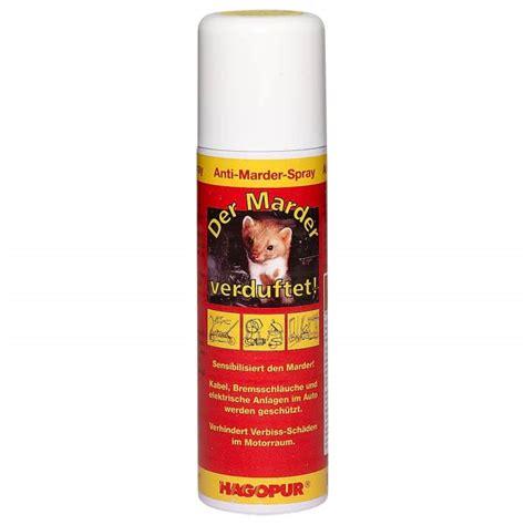 anti marder spray hagopur anti marder spray g 252 nstig kaufen askari jagd shop
