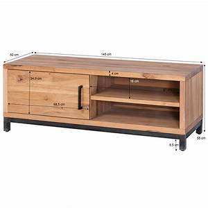 Tv Lowboard 250 Cm : tv lowboard bestano 145 cm eiche massivholz ~ Bigdaddyawards.com Haus und Dekorationen