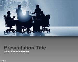 orange corporate project powerpoint template