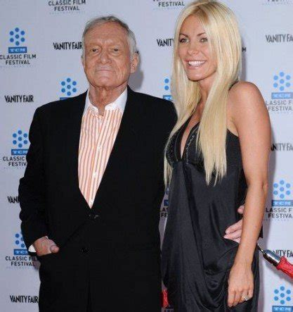 Hugh Hefner proposed to Girlfriend Crystal Harris with a ...