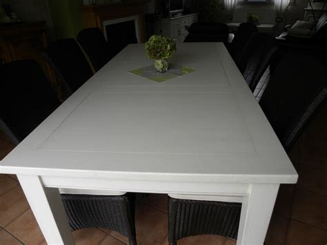 table a manger blanche chaios