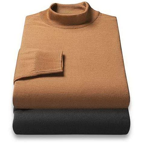 mens wool turtleneck sweater eu moda merino wool mock turtleneck mens sweater