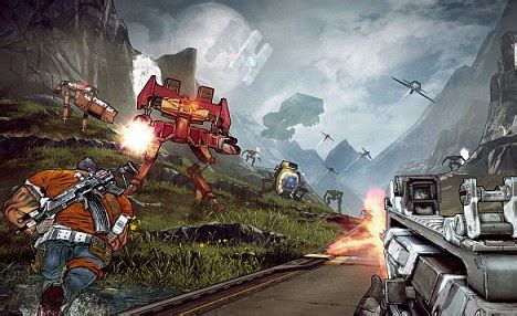 review borderlands  xbox  ps pc daily mail