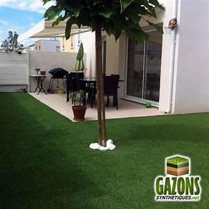 Amenager Un Petit Jardin Sans Pelouse : galeries photos de gazons synth tiques et pelouses artificielles ~ Melissatoandfro.com Idées de Décoration