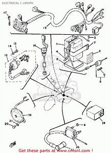 Yamaha Lb50pg Chappy 1980-1982 Electrical 1 Lb50pg