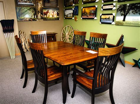 amish made dining tables eldesignr
