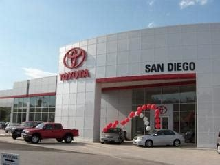 Toyota Dealership San Diego by Toyota San Diego San Diego Ca
