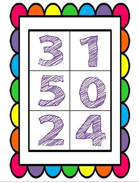 fabulosa y bonita loter 237 a y cartas de n 250 meros material educativo educprees n 250 meros