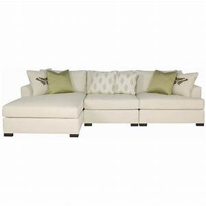 Adriana sectional sofa with chaise lounger by bernhardt for 8 ft sectional sofa