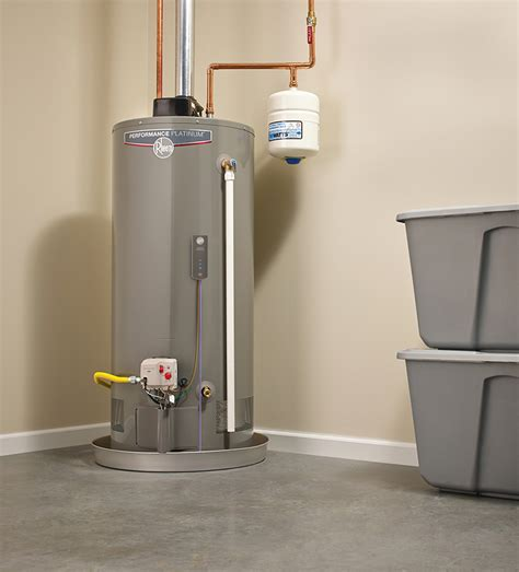 water heater in garage code photography