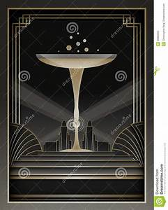 Art Deco Background Et Cadre Photo Stock Image 30882660