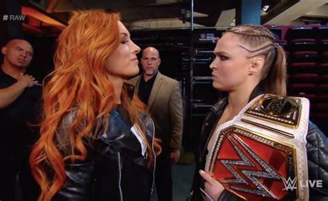 becky lynch  ronda rouseys wwe run  isnt