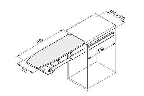 amenagement interieur tiroir cuisine table à repasser escamotable pour meuble bas accessoires