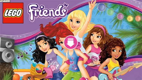 lego friends wallpaper gallery