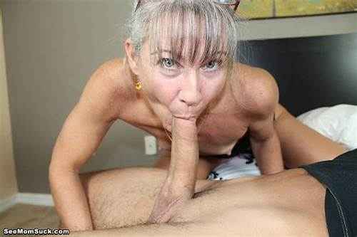 Grey Haired Milf Large Breasty