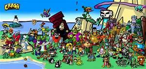 a CRASH Bandicoot tribute by theEyZmaster on DeviantArt
