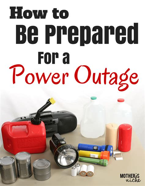 tips   prepared   power outage