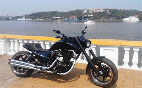 Bullet Modification In Mangalore by Royal Enfield Bullet Modification Bulleteer Customs