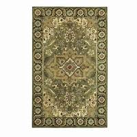 home depot rugs Home Decorators Collection Normandie Sage 8 ft. x 11 ft ...