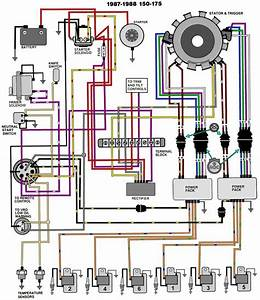 1994 Evinrude 175 Hp Wiring Diagram