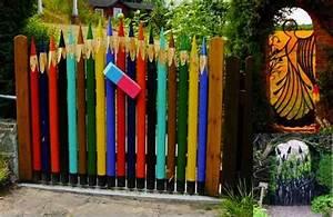 20 Amazing & Unique Garden Gate Ideas - Do-It-Yourself Fun