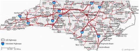 Map Of I 85 In North Carolina Secretmuseum