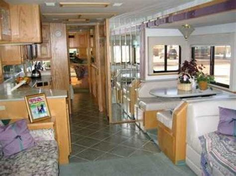 advanced kitchen cabinets recreational vehicles diesel pusher motorhomes 1998 1166