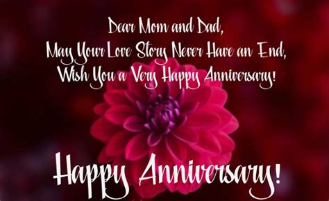 latest wedding anniversary wishes  parents