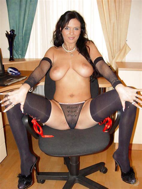 Sandra Orlow Stockings Cumception