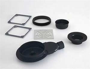 Receveur Douche Pret A Carreler : lazer siphon de sol sortie horizontale extraplat pour ~ Premium-room.com Idées de Décoration