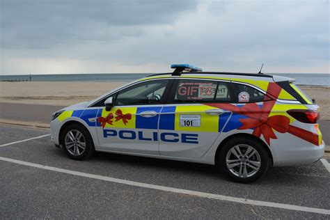 Police car makeover in vehicle crime campaign