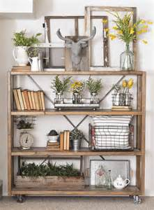 Best shelf arrangement ideas on ladder