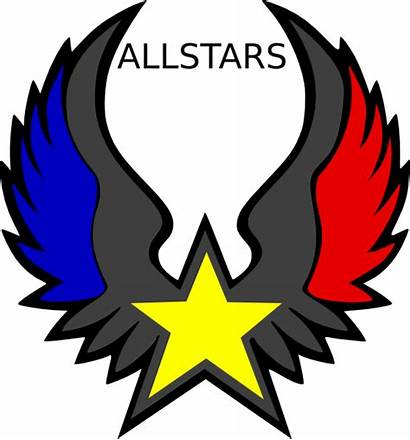 Emblem Allstars Star Clipart Clip Silverhawks Eagles