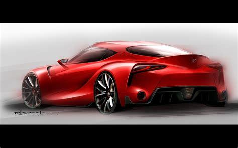 2018 Toyota Ft 1 Concept Sketch 2 2560x1600 Wallpaper