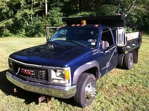 Buy Used 99 Gmc K3500 Drw Dump Truck 4x4 106 000 Miles