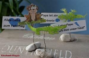 Vatertag Basteln Grundschule : diy vatertag kitschwerk ~ Frokenaadalensverden.com Haus und Dekorationen