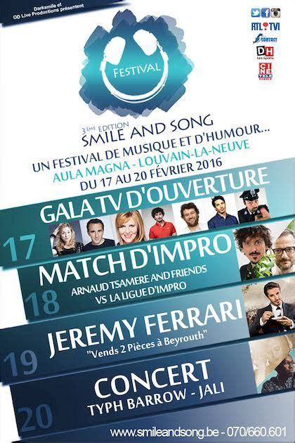 jeremy ferrari vous attend au smile  song festival le