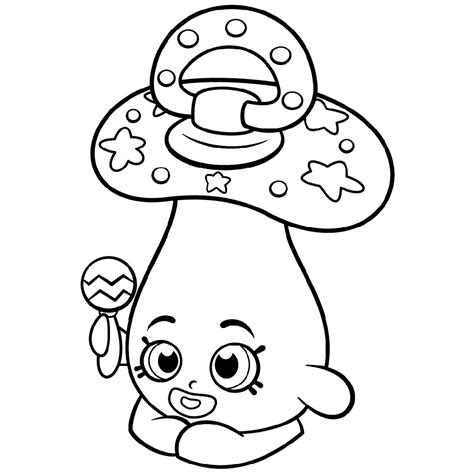 Printable Shopkins Coloring Pages 101 Coloring