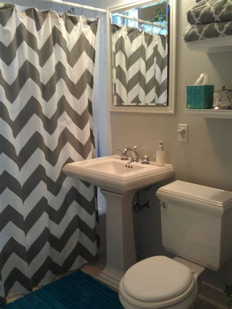 Best 25+ Chevron Shower Curtains Ideas On Pinterest Gray