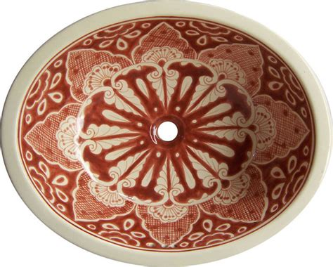 mexican hand painted sinks made to order talavera hand painted mexican sink small